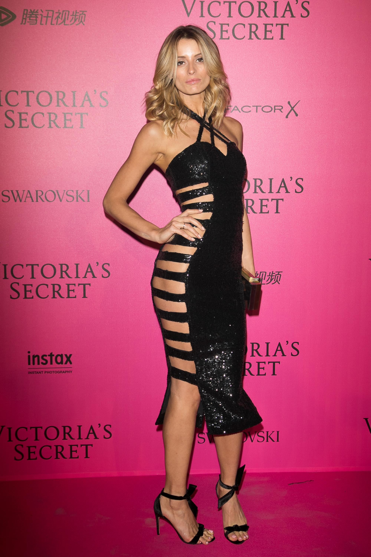 Flavia Lucini en el after party de Victoria's Secret