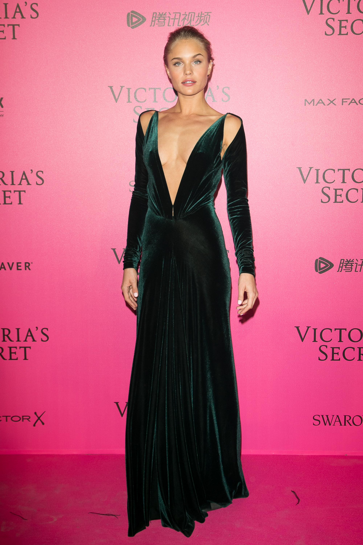 Brooke Perry en el after party de Victoria's Secret