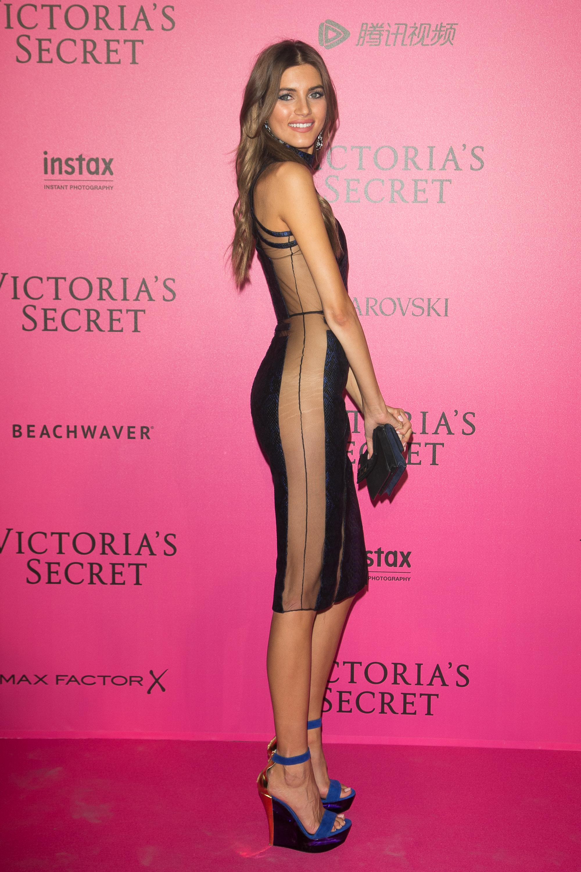 Valery Kaufman en el after party de Victoria's Secret