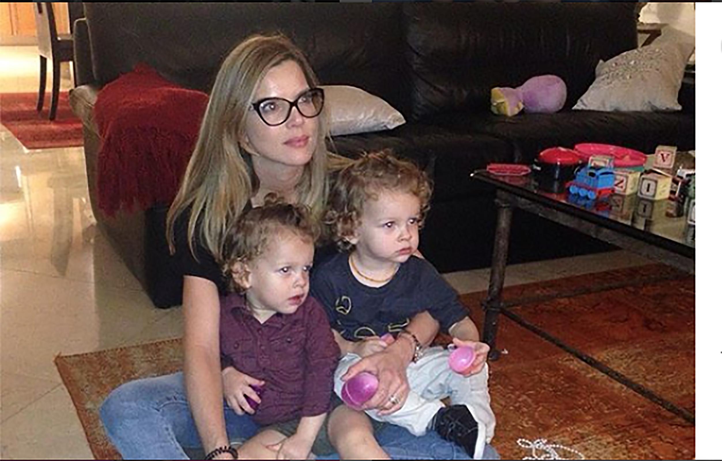 Maritza Rodriguez con hijos