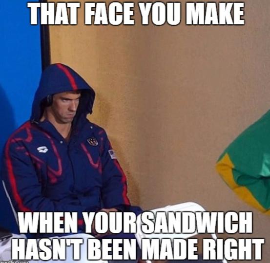 Michael Phelps meme
