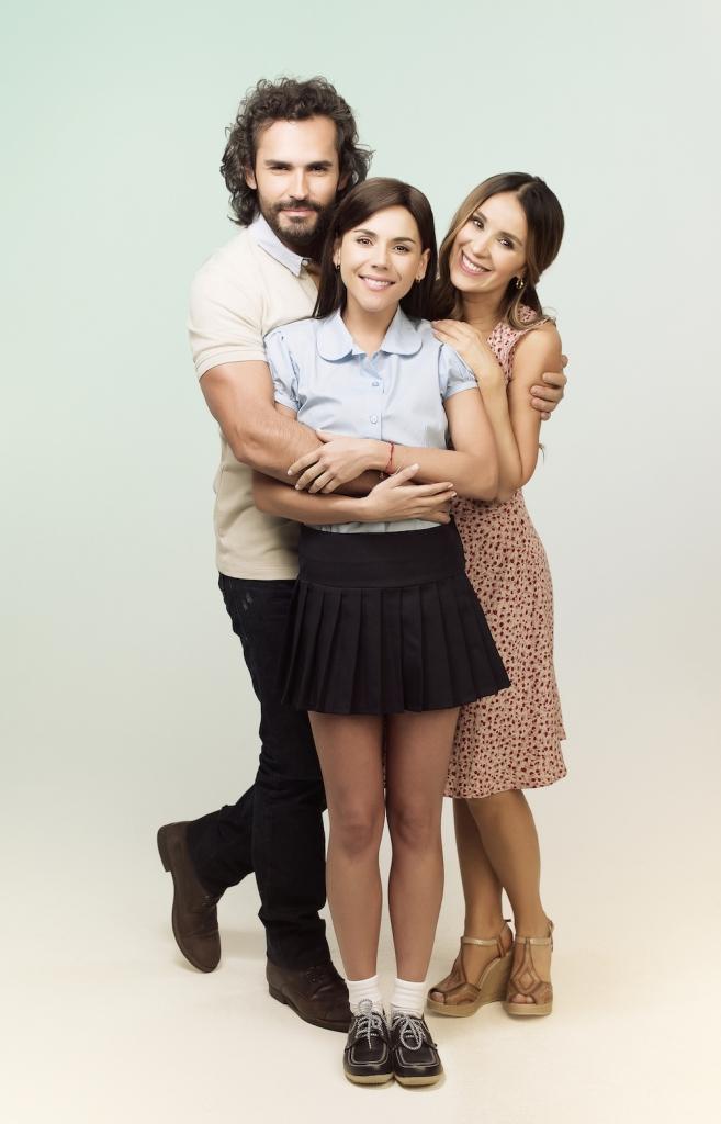 Fabián Ríos, Catherine Siachoque y Carolina Gaitán