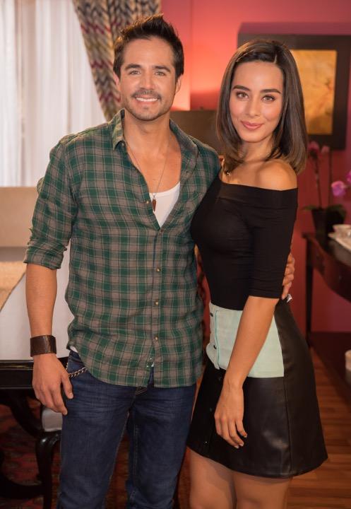 José Ron y Esmeralda Pimentel