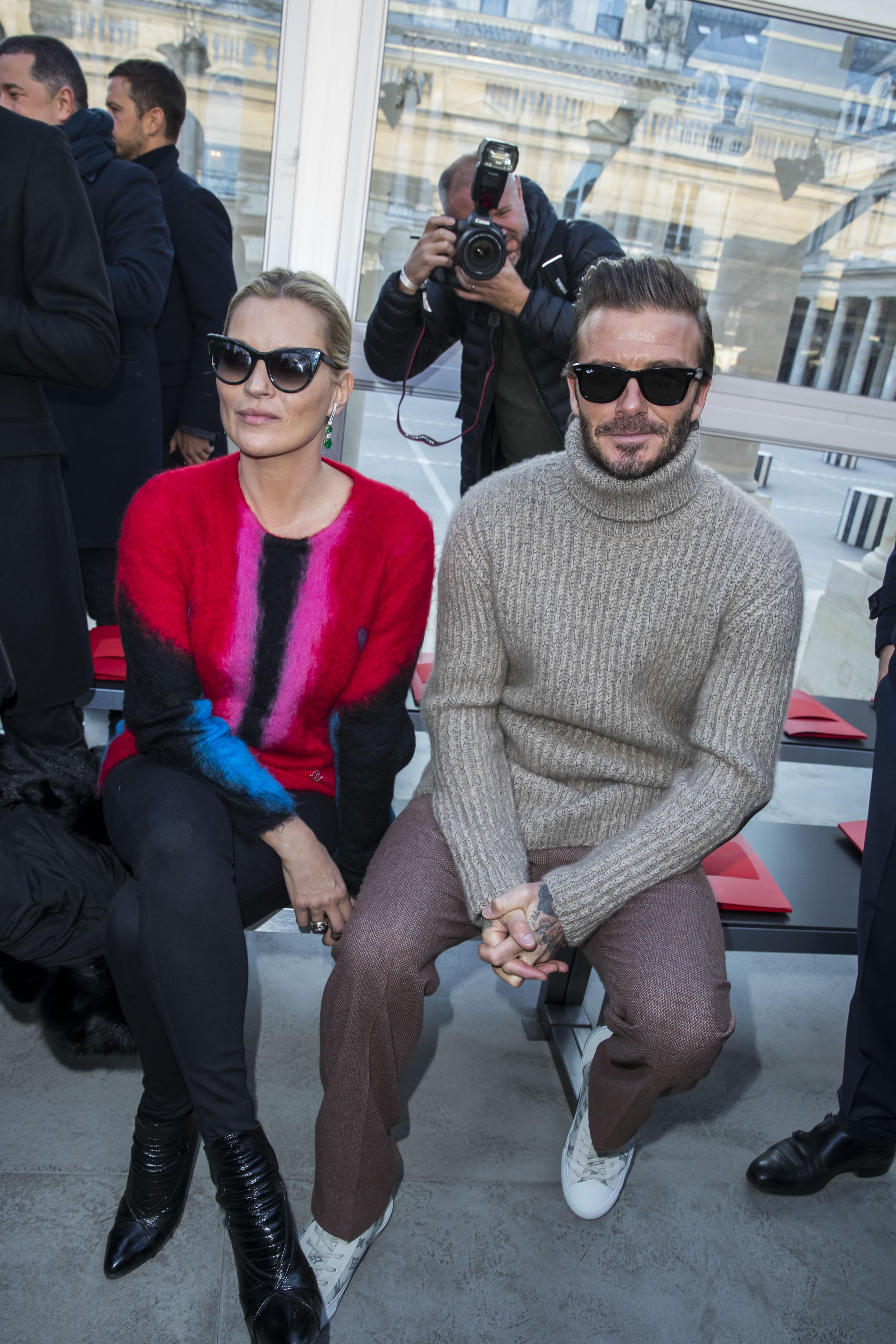 Kate Moss, David Beckham