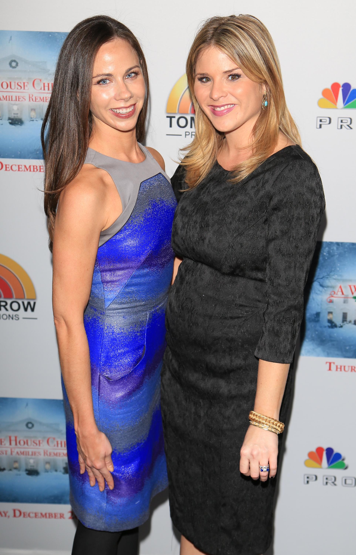 Barbara Bush y Jenna Bush Hager