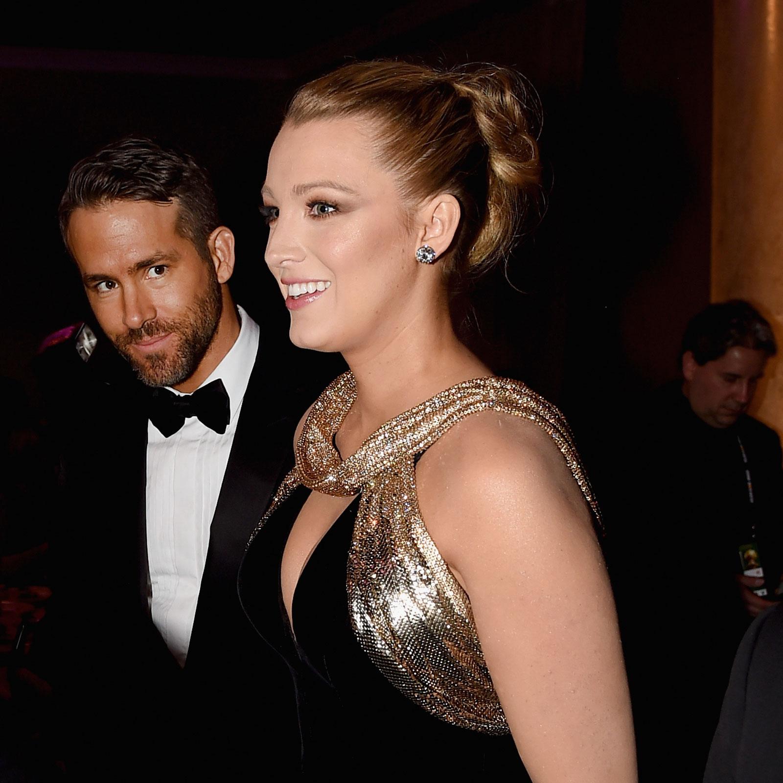Blake Lively, peinado Golden Globes