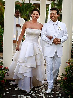 Bárbara Bermudo y Mario Andrés Moreno, bodas 2008