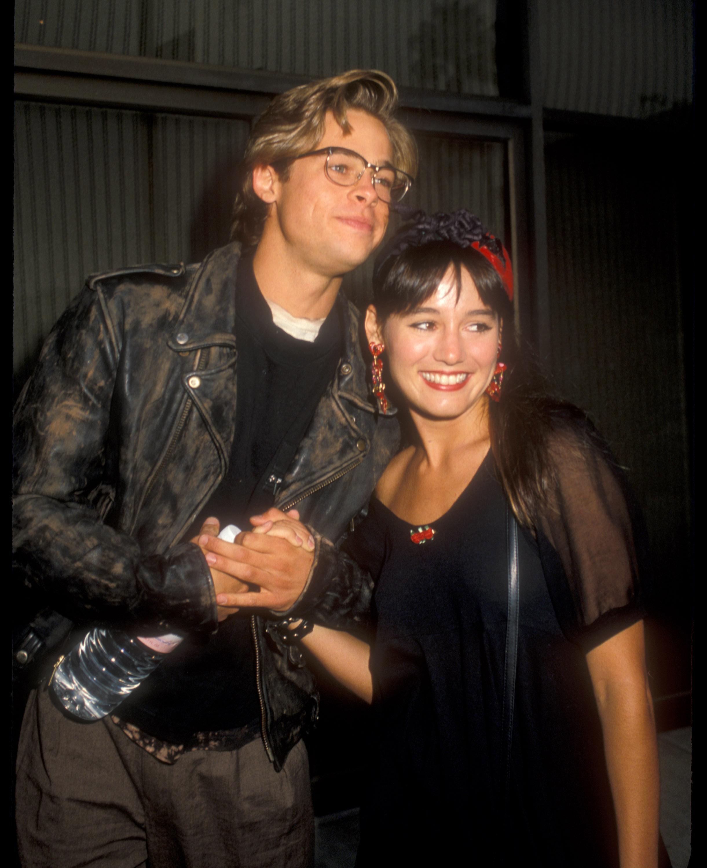Jill Schoelen, Brad Pitt