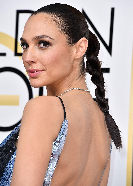Gal Gadot, peinado Golden Globes