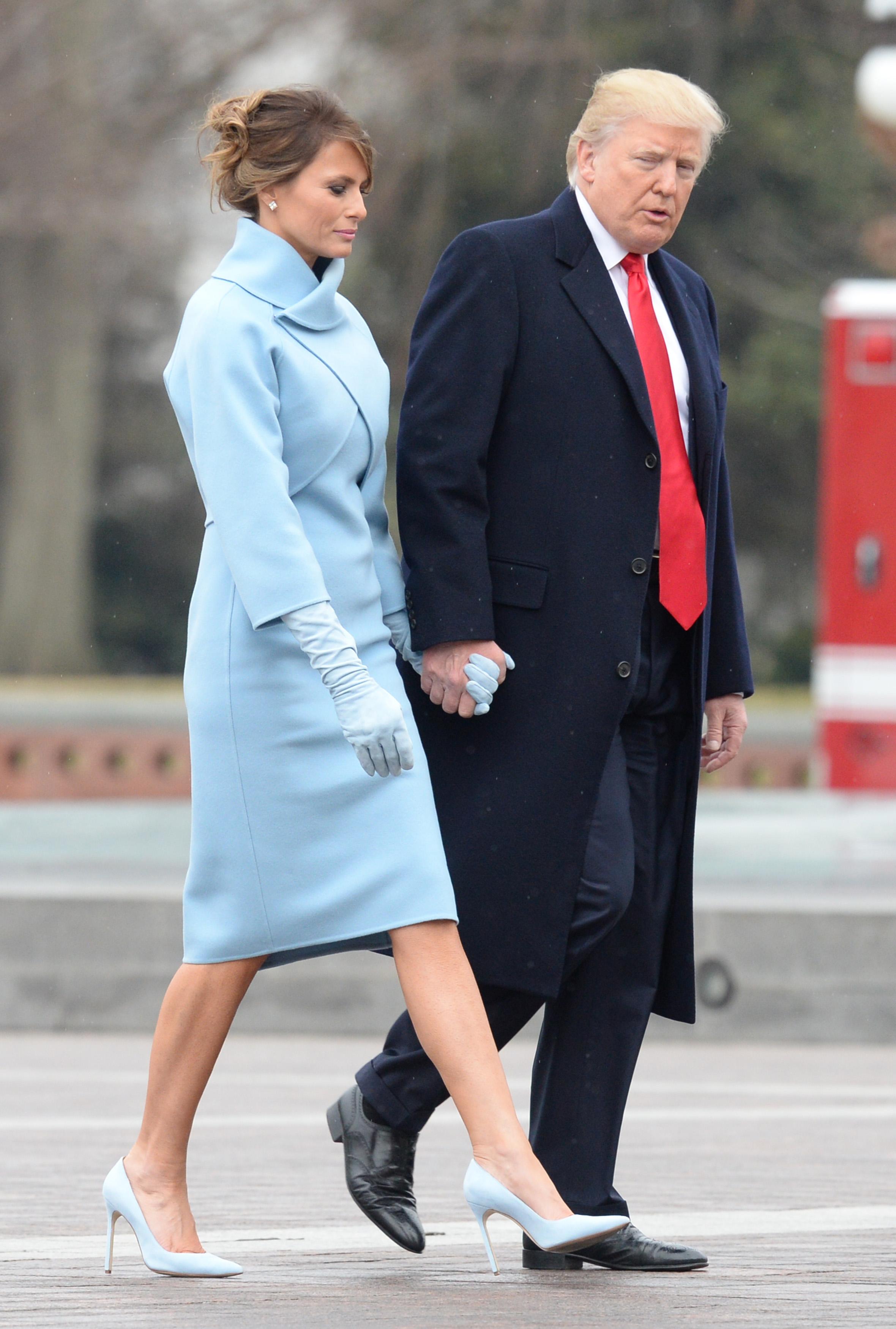 Melania Trump, toma de posesion