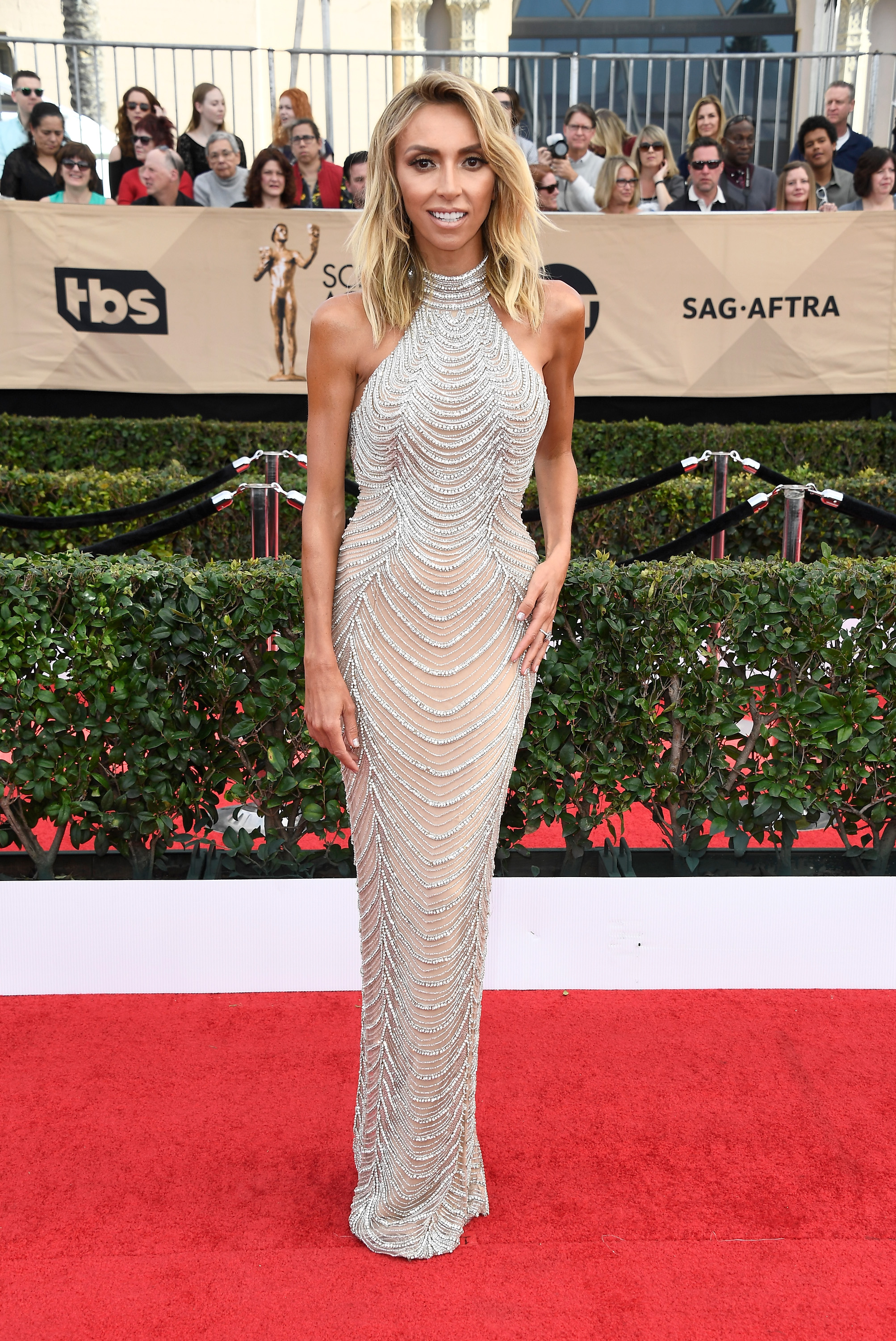 Giuliana Rancic SAG awards vestido
