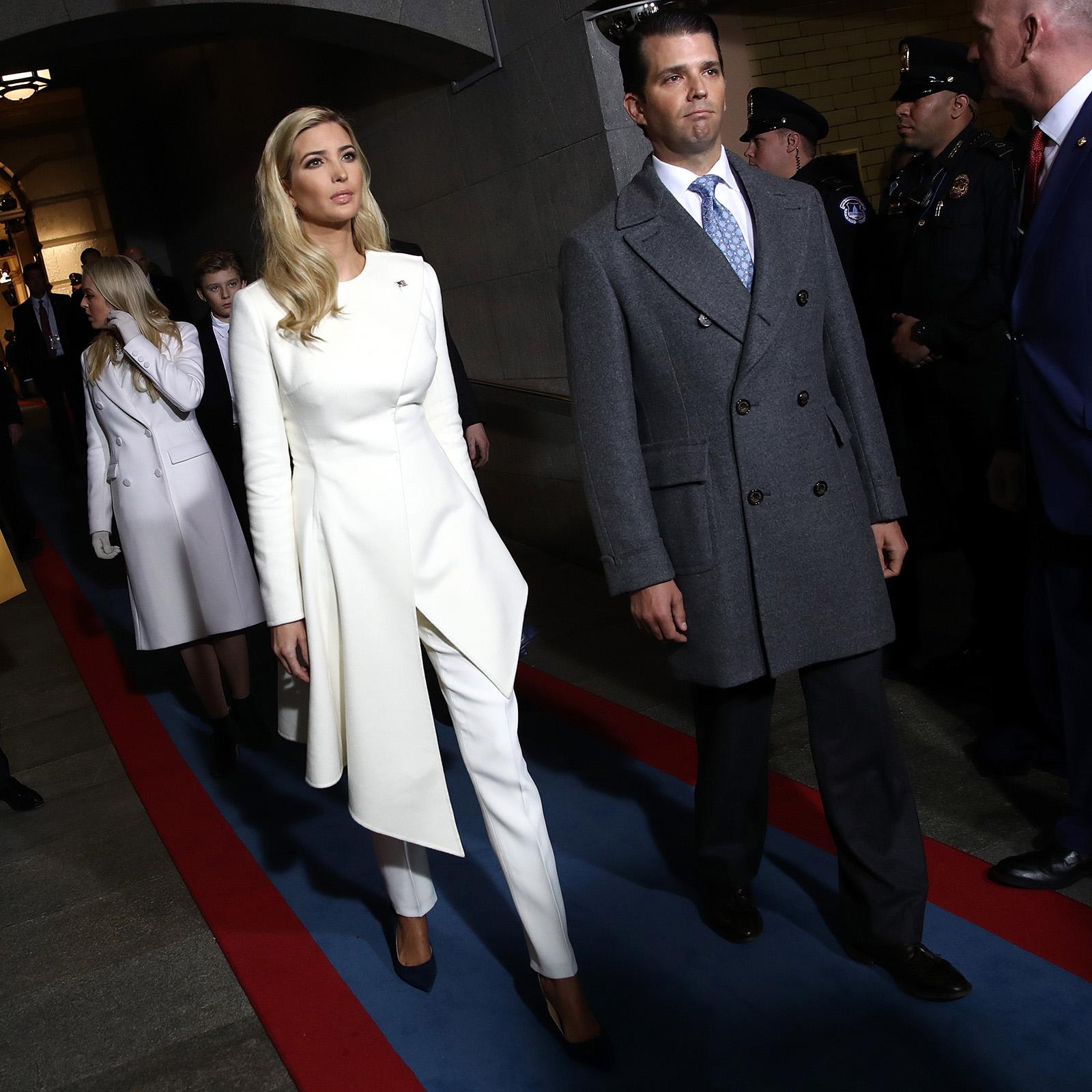 Ivanka Trump en la ceremonia de Inaguración