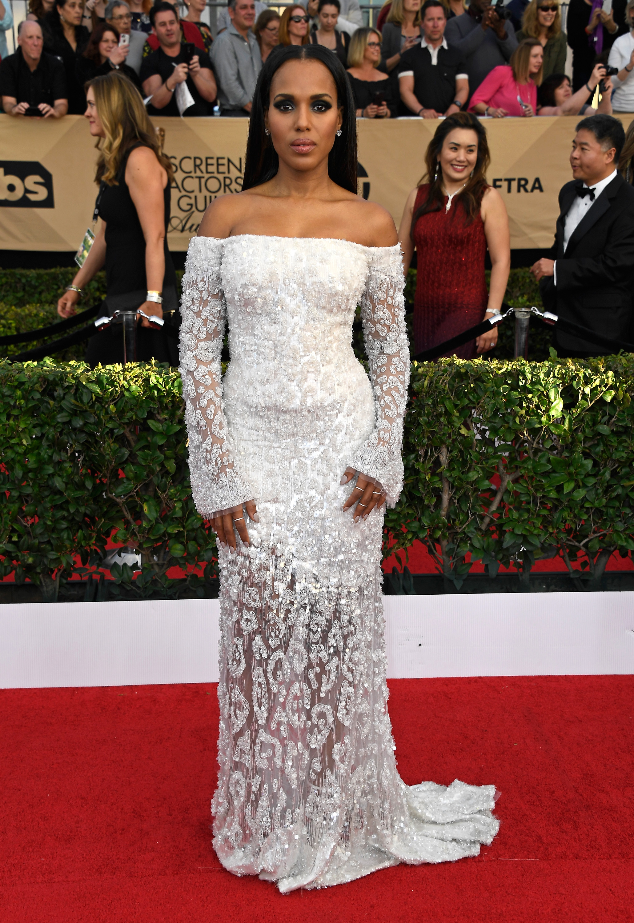 Kerry Washington SAG awards vestido
