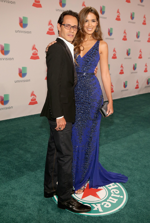 Marc Anthony con Shannon de Lima