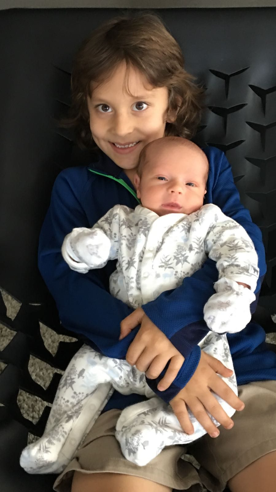 Jacques con su hermano Gianni
