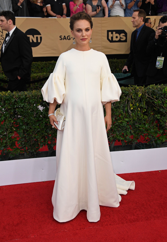 Natalie Portman SAG awards vestido