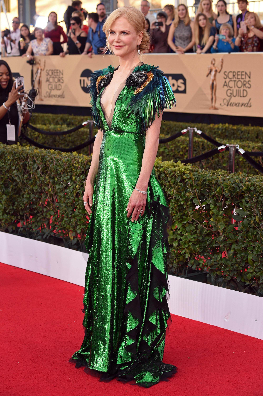 Nicole Kidman SAG awards vestido