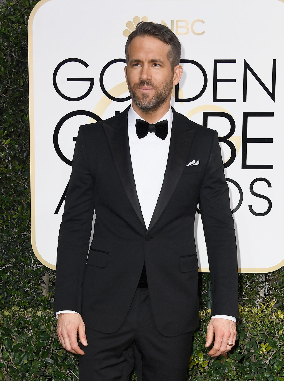Ryan Reynolds en los Golden Globe Awards