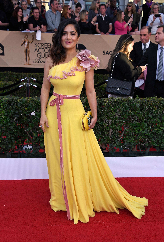 Salma Hayek SAG awards vestido
