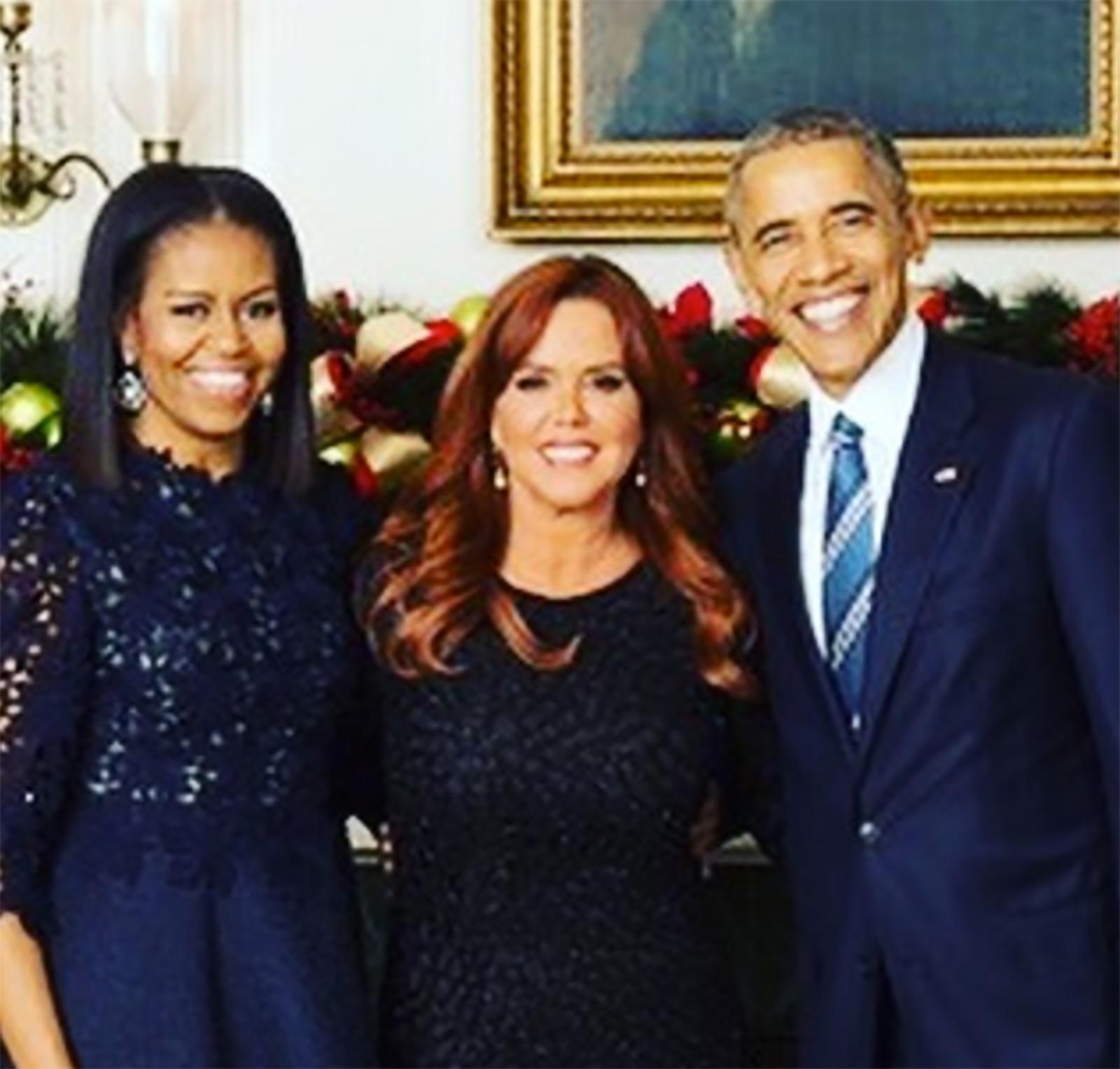 María Celeste Arrarás, Barack Obama