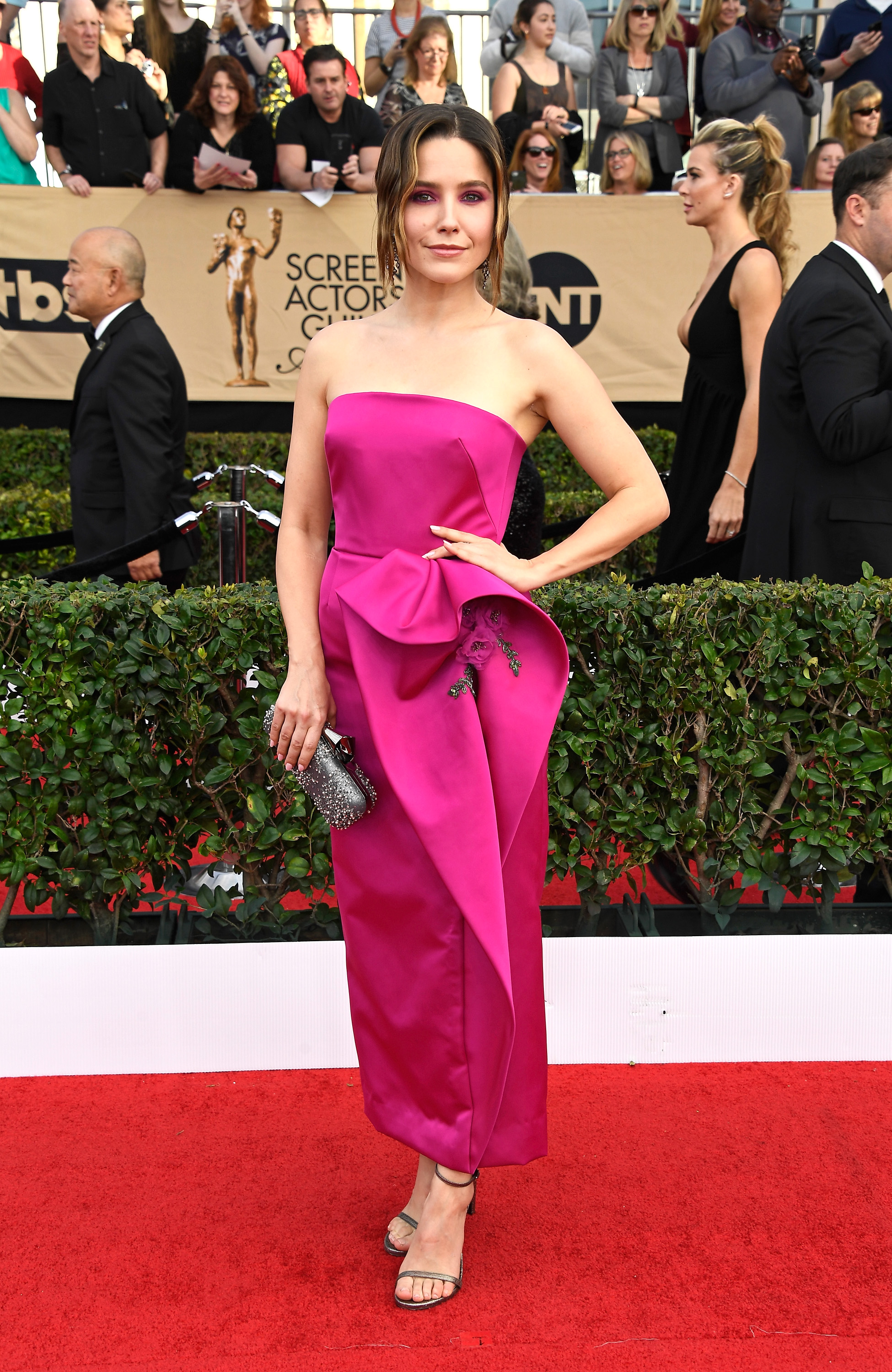 Sophia Bush SAG awards vestido