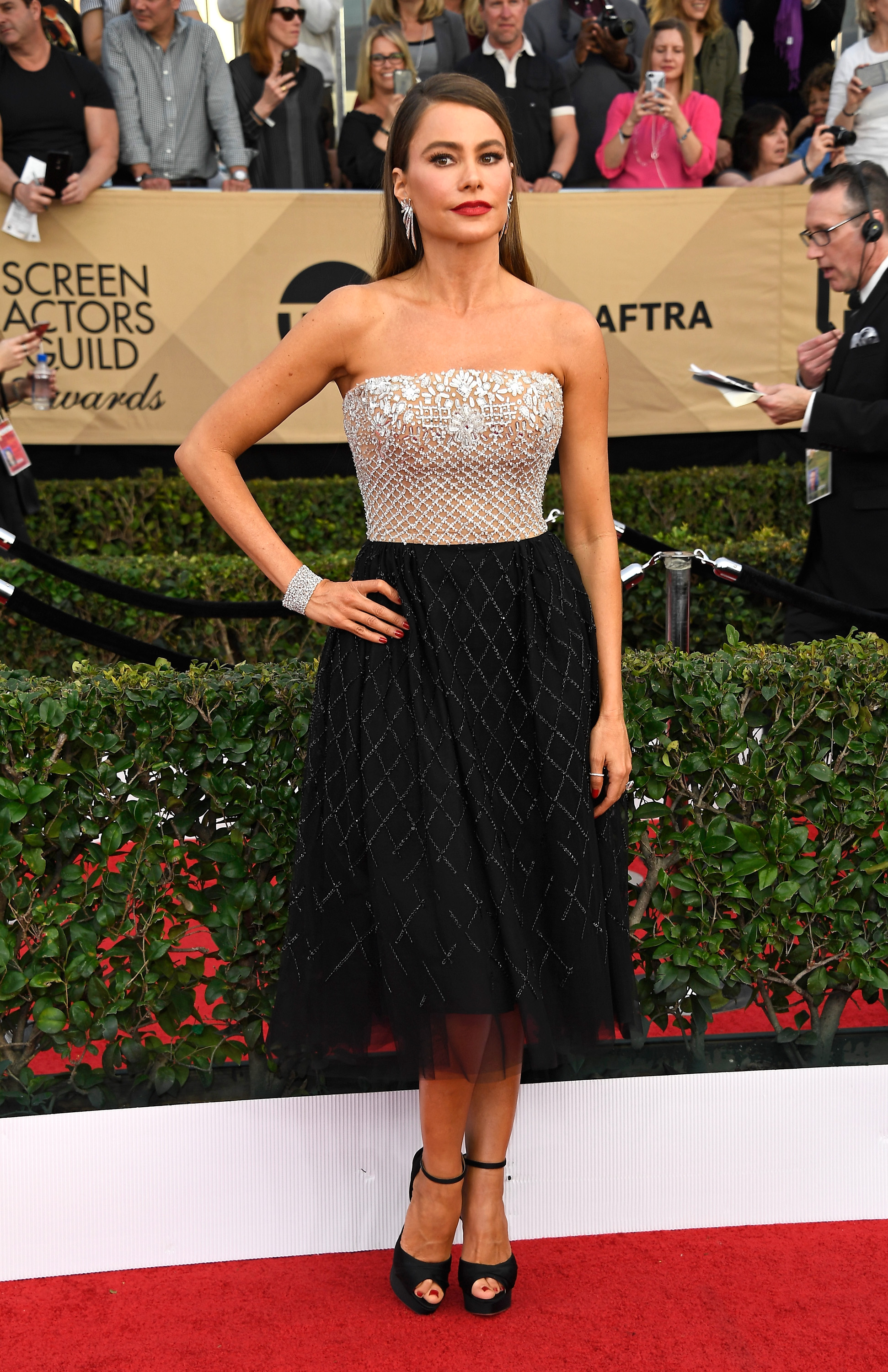 Sophia Vergara SAG awards vestido