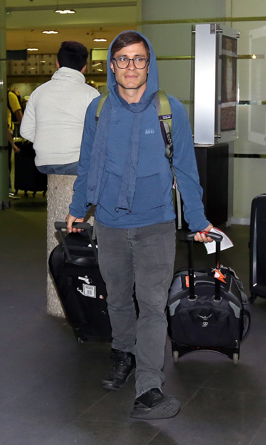 EXCLUSIVE Gael Garcia Bernal Departs Mexico On His Way To The Sundance Film Festival