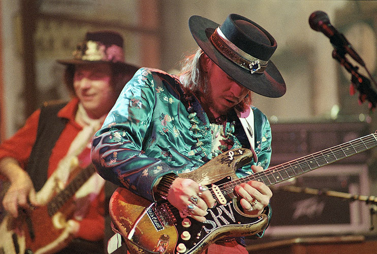 Stevie Ray Vaughan, muertes, accidente aéreo