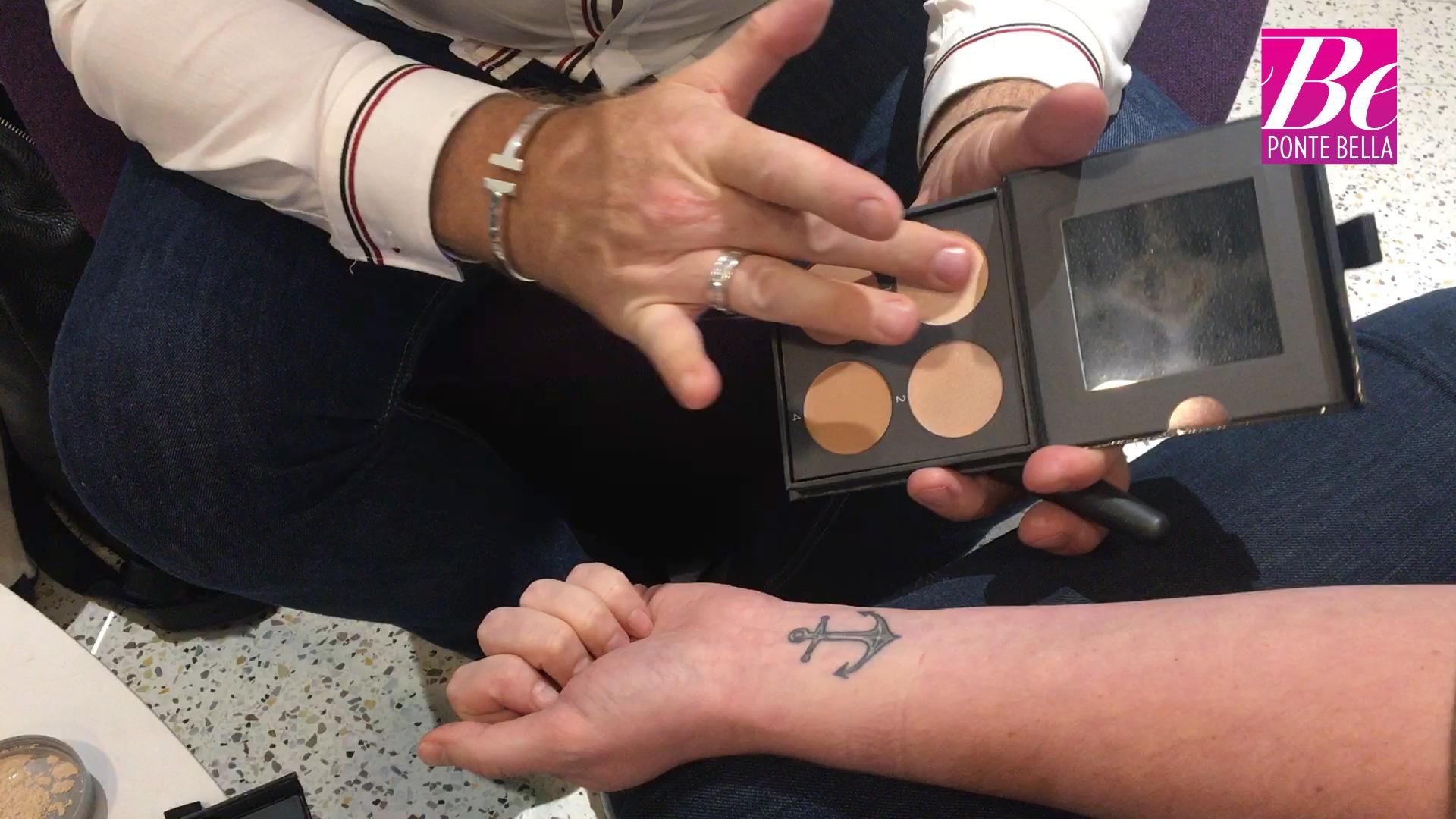 Cobertura tatuaje con maquillaje Cover FX