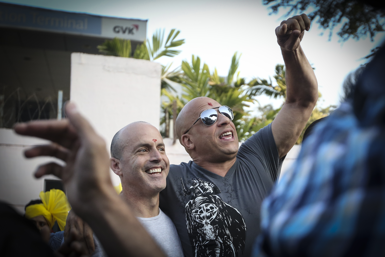 Vin Diesel y DJ Carusso