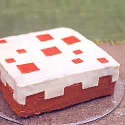 Pastel para niños Minecraft