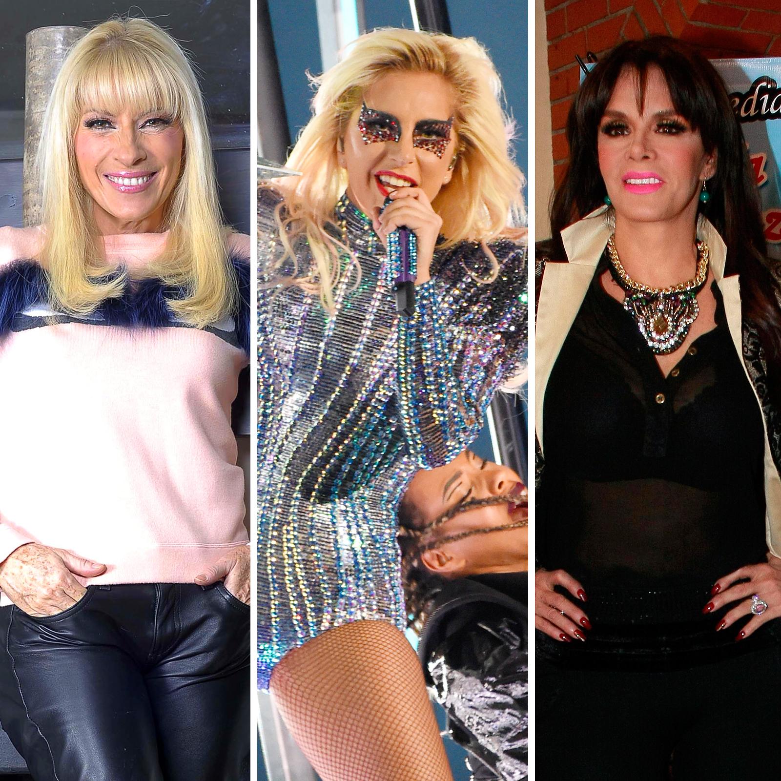 Yuri, Lady Gaga y Lucia Mendez