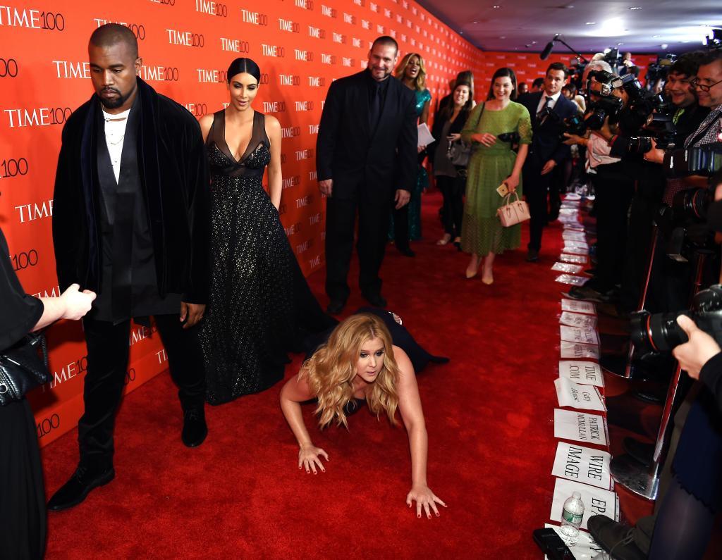 Kanye West, Kim Kardashian, Amy Schumer
