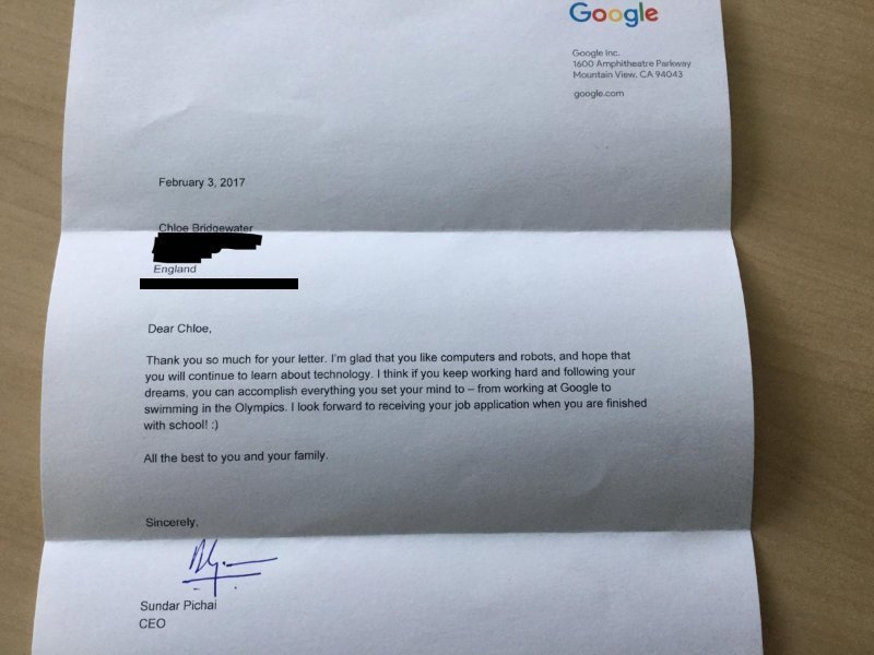 Carta CEO Google