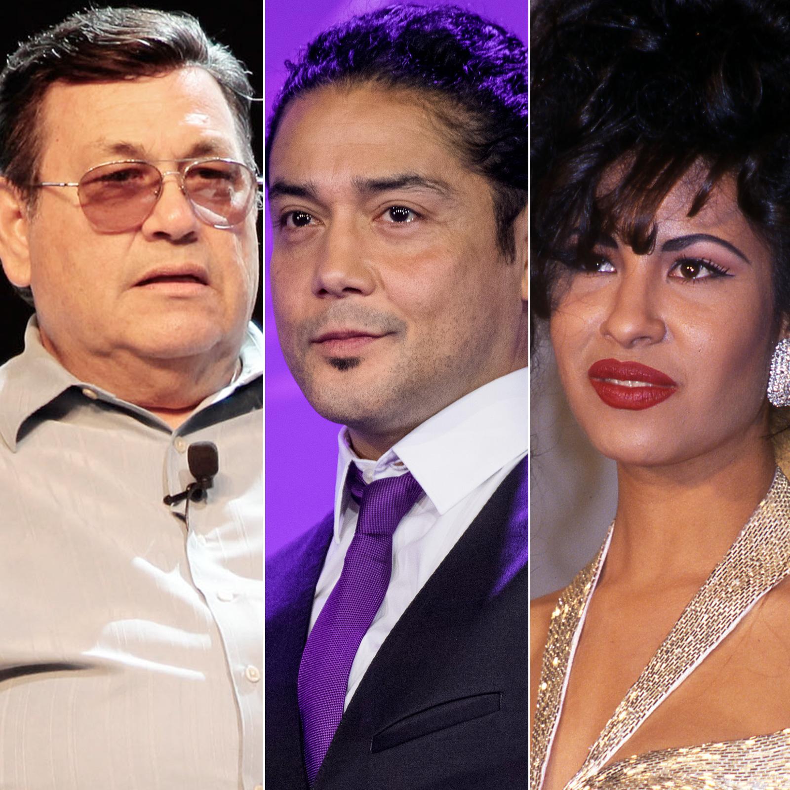Abraham Quintanilla, Chris Pérez y Selena Quintanilla