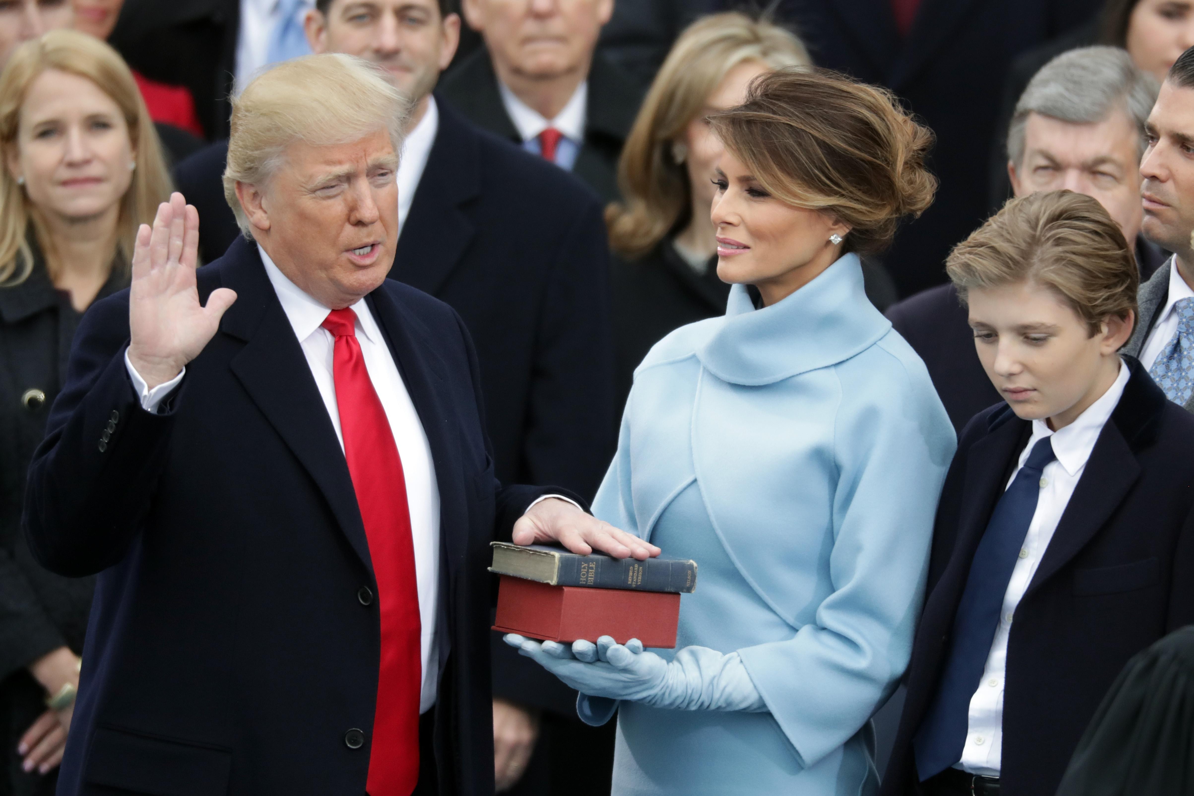 Donald Trump inaguración