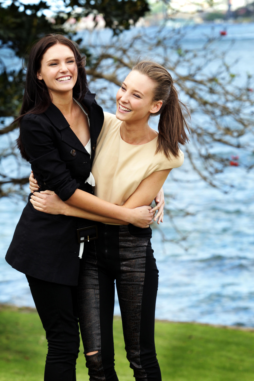 Amanda Ware y Kelsey Martinovich
