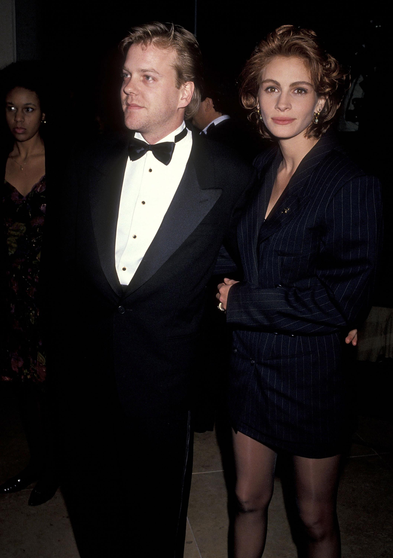 Kiefer Sutherland y Julia Roberts