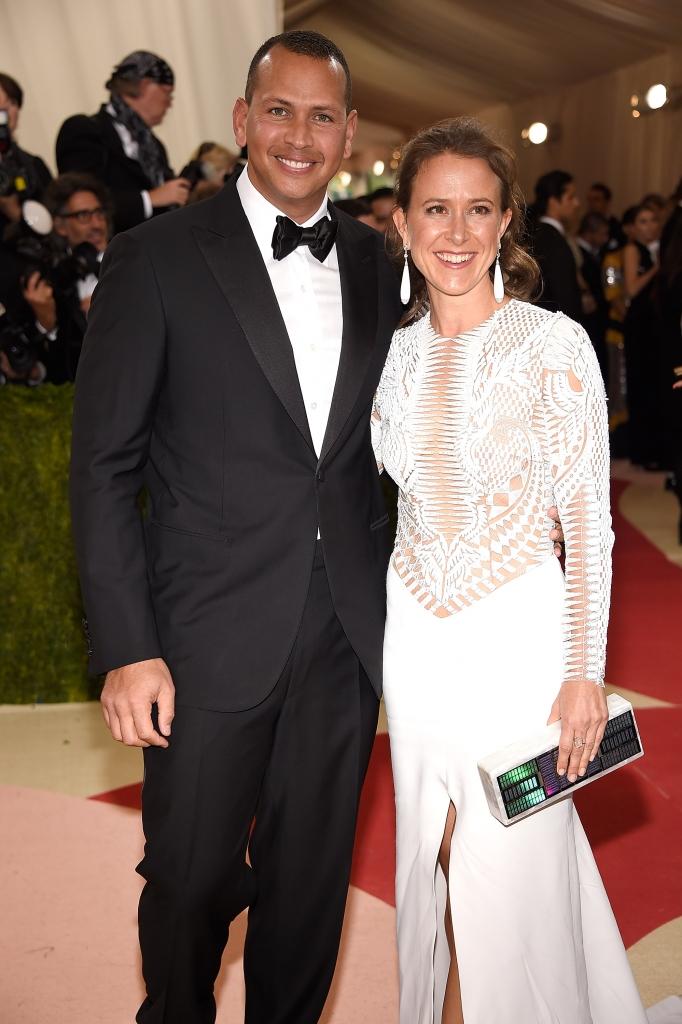 Alex Rodriguez y Anne Wojcicki