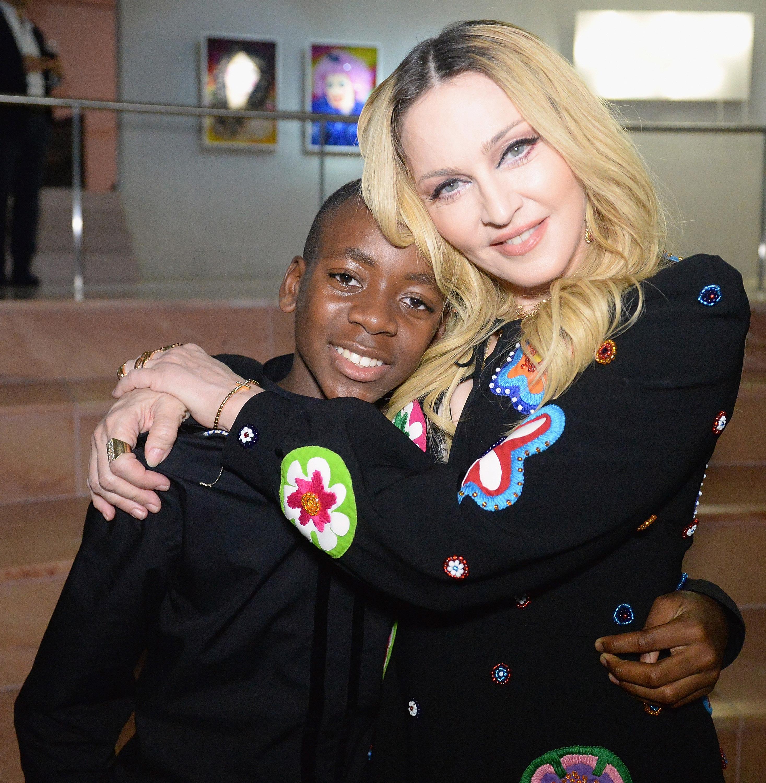 David Banda y Madonna