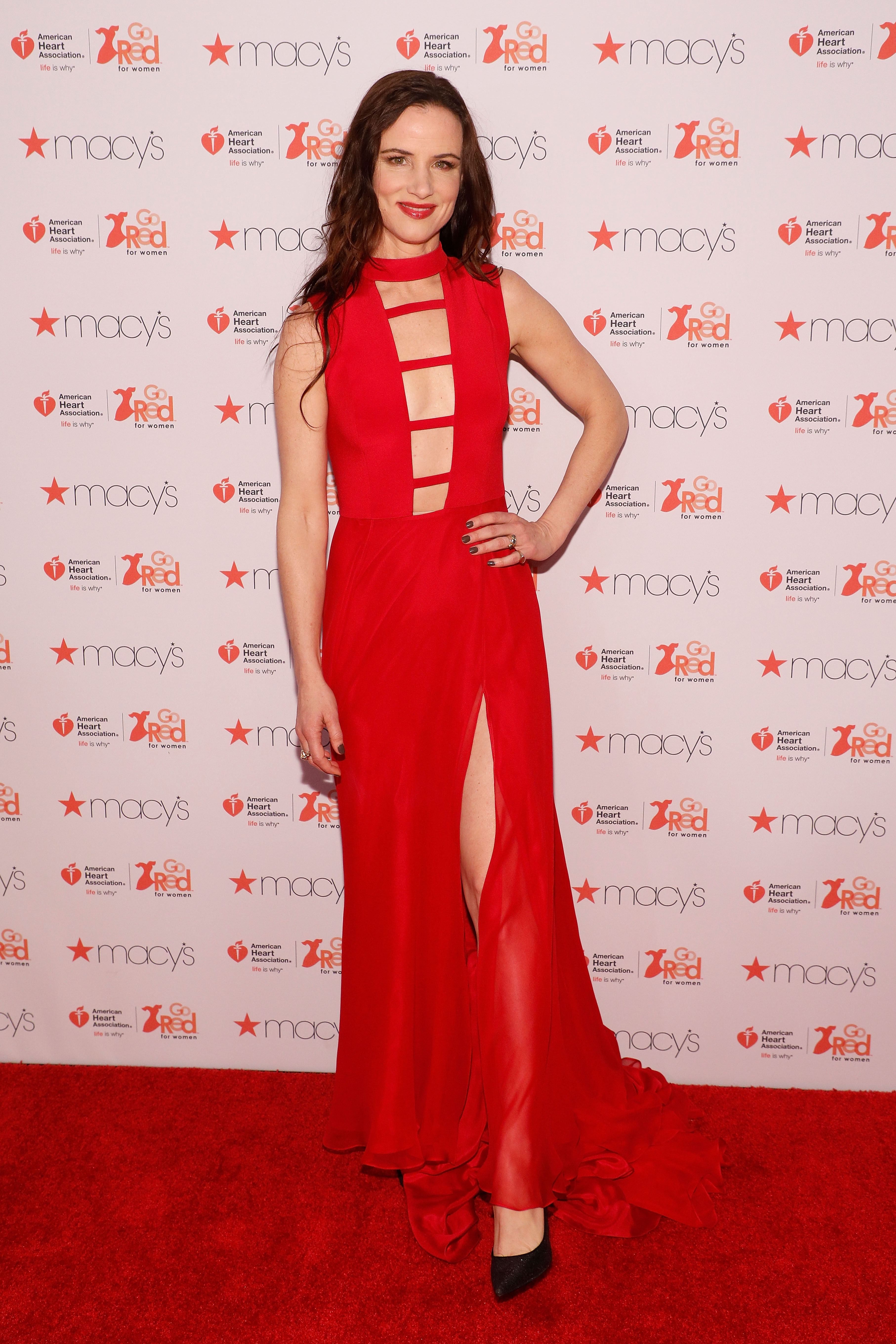 American Heart Association's Go Red For Women Red Dress Collection - Front Row & Backstage - February 2017 - New York Fashion Week
