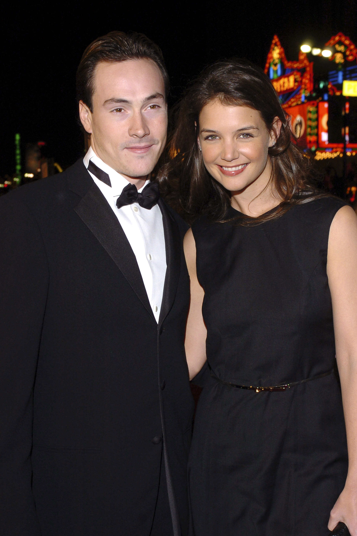 Chris Klein y Katie Holmes