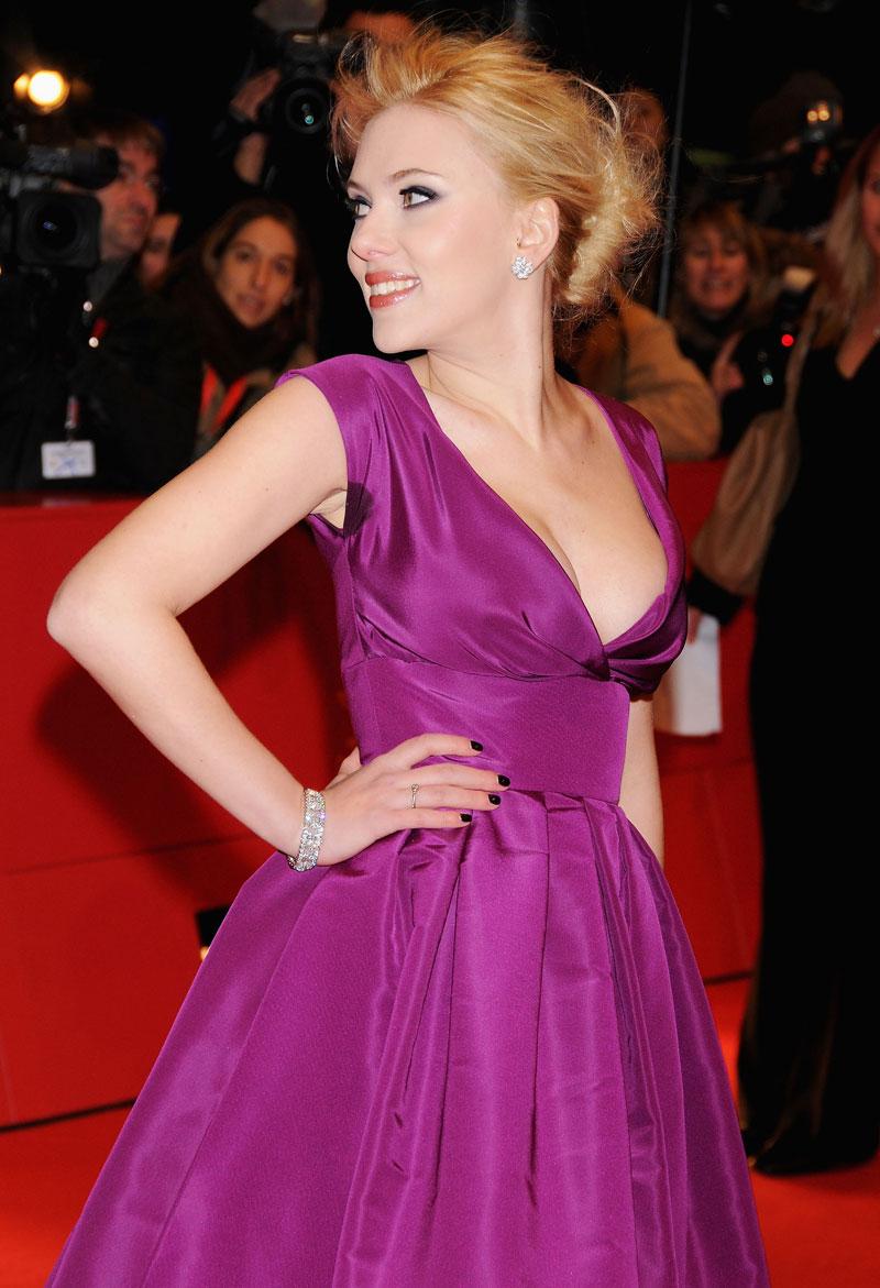 Percances sobre la alfombra, Scarlett Johansson