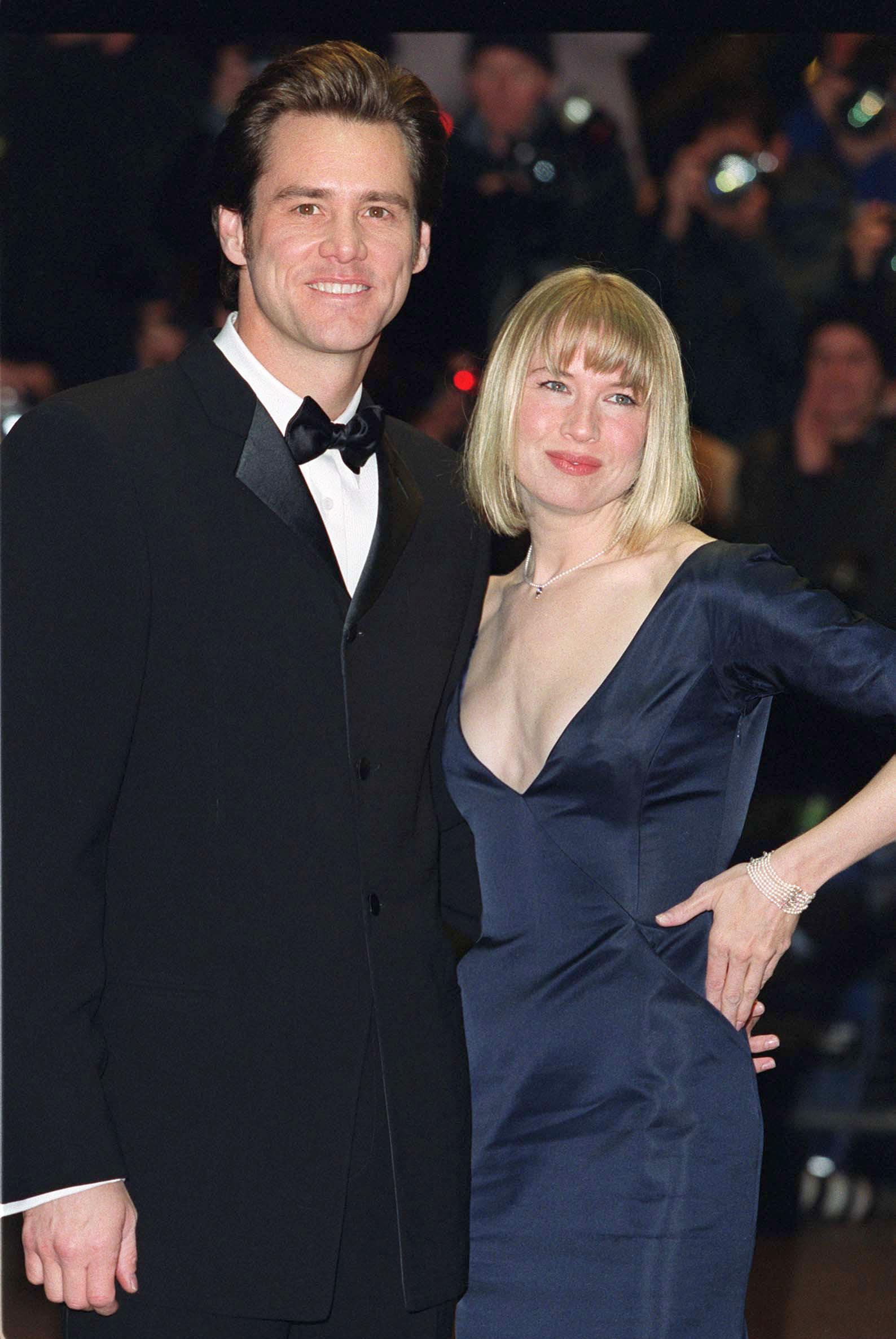 Jim Carrey y Renee Zellweger