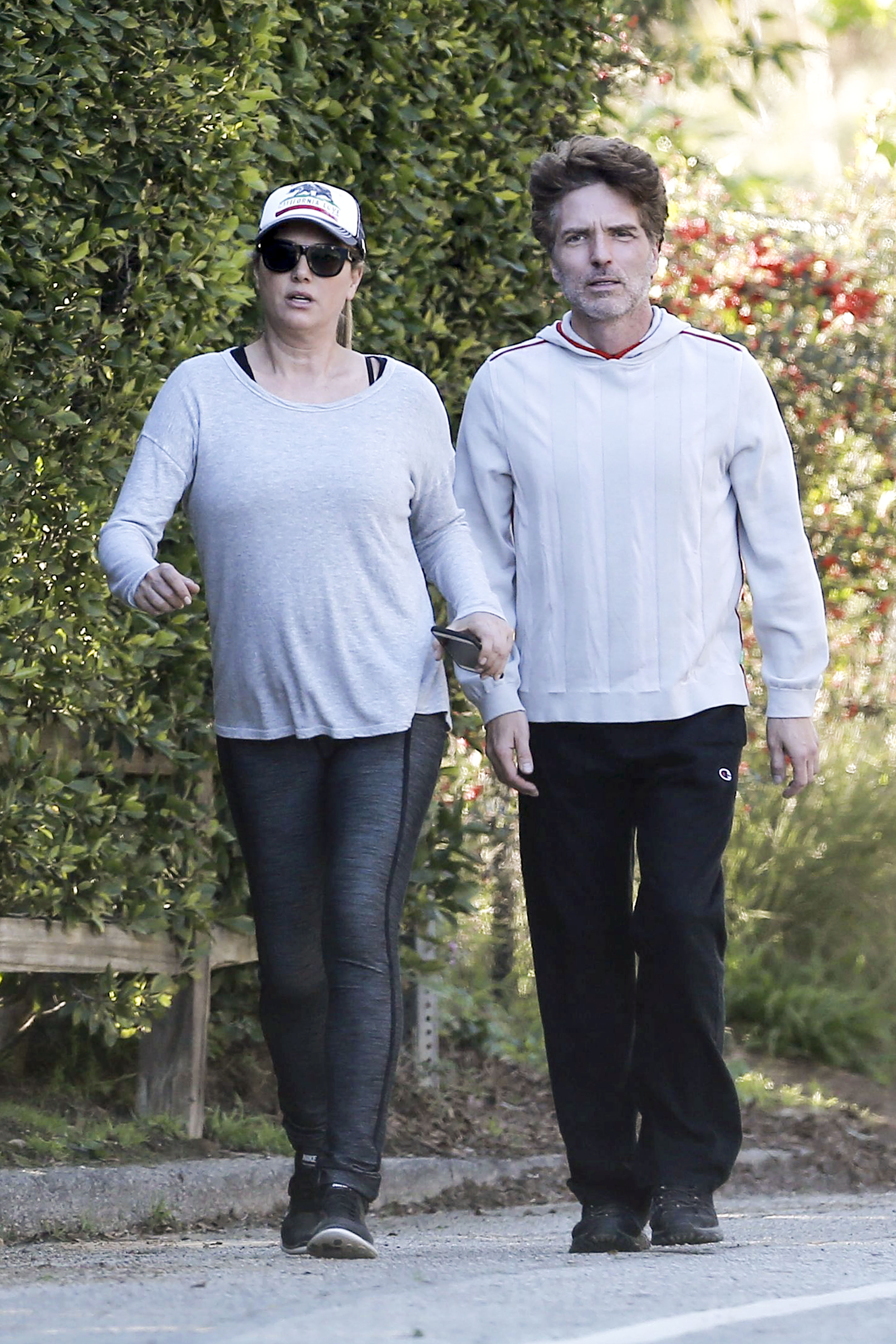 EXCLUSIVE Daisy Fuentes And Her Heroic Husband Richard Marx Take A Hike On Runyon Canyon
