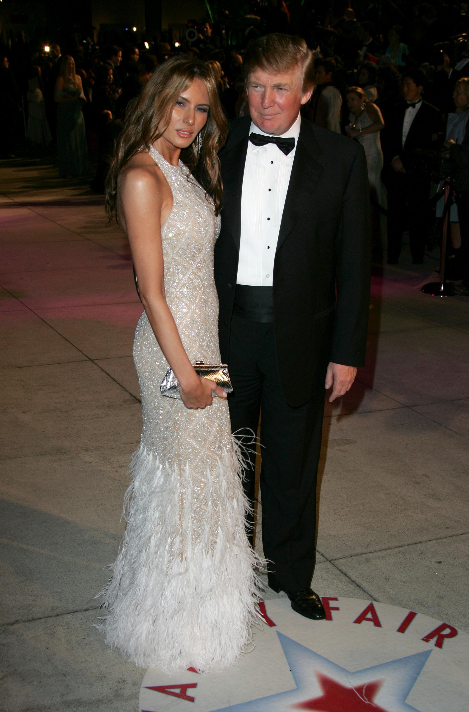 2005 Vanity Fair Oscar Party - Arrivals