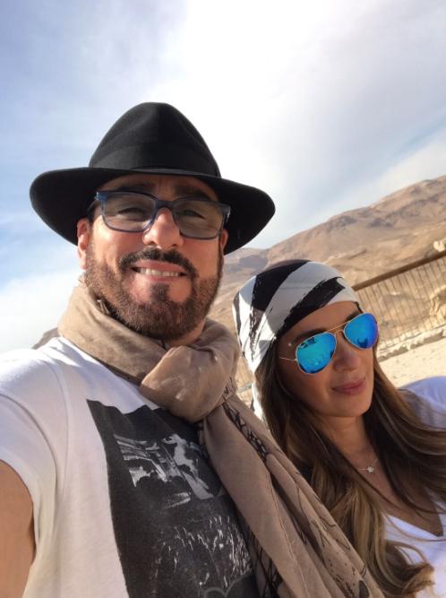 Catherine Siachoque y Miguel Varoni