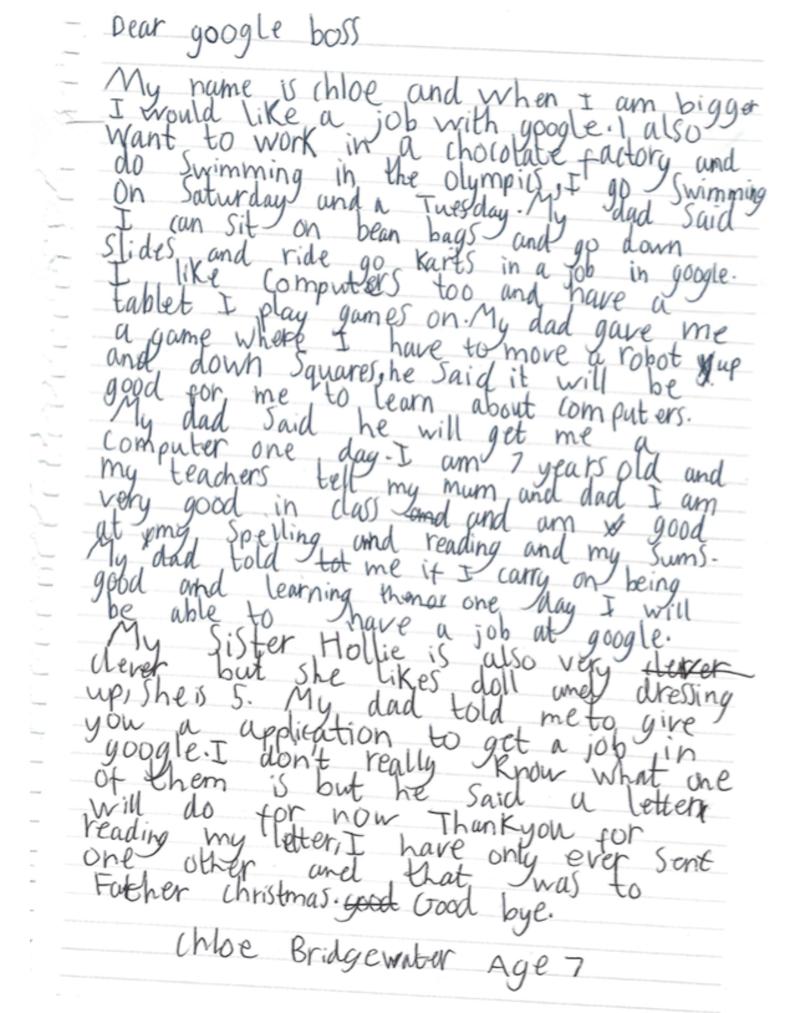 Carta Chloe Bridgewater