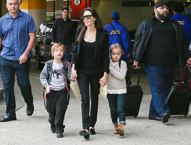 Angelina Jolie, Vivienne, Knox, Míralos