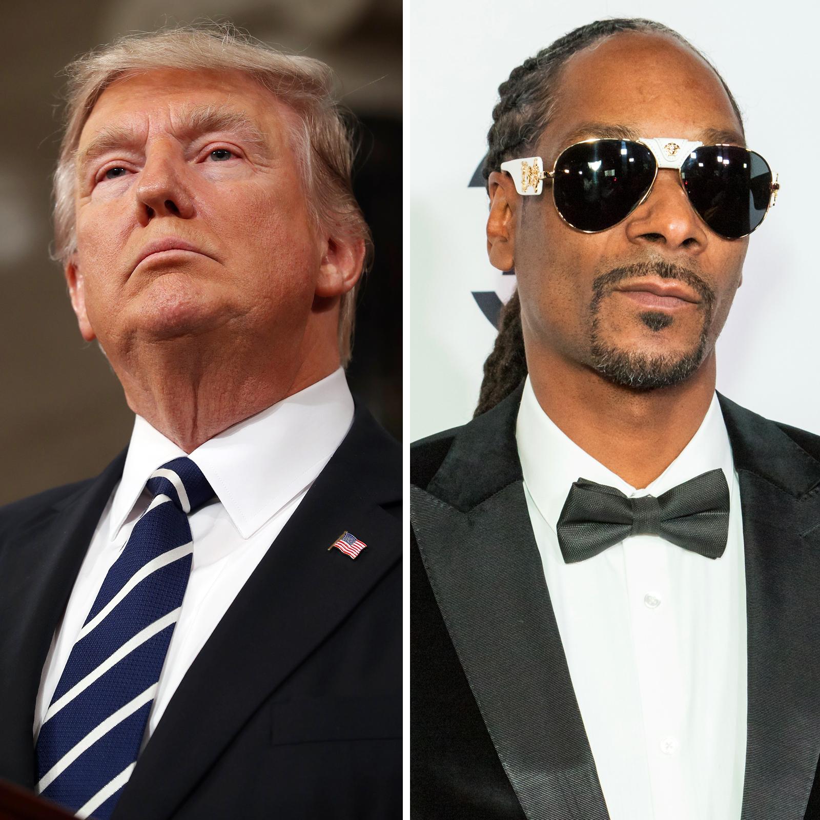 Donald J. Trump y Snoop Dogg